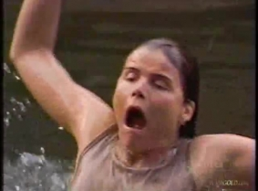 Mariel Hemingway wet