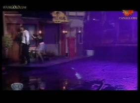Argentina gameshow water dance