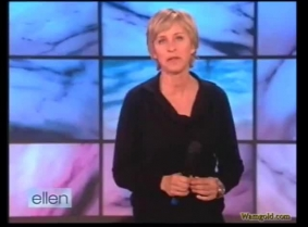 Ellen Degenerate Dunk Tank