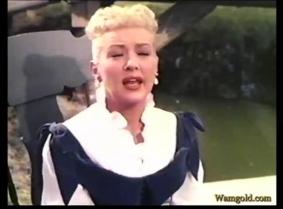 Betty Grable wet scene