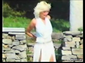 Marilyn Monroe wetlook spoof
