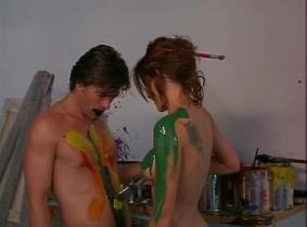 Kari Wuhrer nude paint