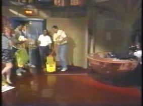 Letterman chocolate bath