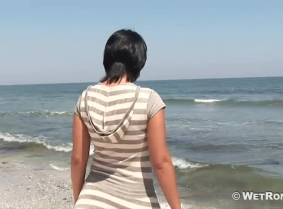 Klara is a 26 years old lady who found interesting our proposal to play in the sea fully clothed wearing your own clothes... So here she is... the first clip we made with her...Enjoy the update.  The clip is encoded in HDV format with 960x540 screen siz