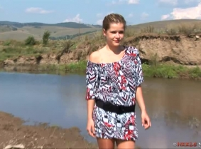 Theodora beautiful, she is young and the most important she LOVES to trash the heels and pantyhose in the mud. Enjoy another update with her.  NOTE: As every other update on this site, this update contains a clip, encoded in HDV 720p (progressive) forma