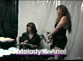 Melody And Ariel pie video