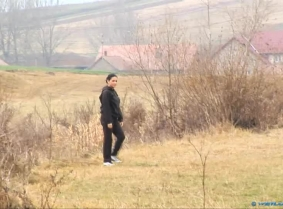 So let's assume that we have a spring day, and let's also assume that Joana is out for a walk on the fields next to her town, because she needed some silence after her recent break up from her boy friend. Now normally you should avoid the messy puddles wh