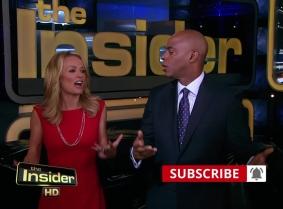 TV moderator slimed