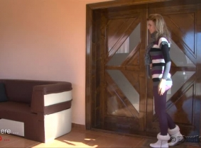 Alisha is for the first time on casualwetlook.com, but we are sure most of the fans noticed her updates with Bella on sexywetlook.com