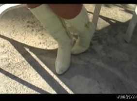 Gigi's -wet boots shoot