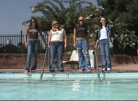 Wet Jeans Pool Party
