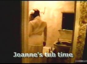 Jo in the tub in 1991