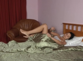 """This update presents a """"usual"""" morning for Alexandra. She wakes up and she go into the bathroom to have a shower. She wears her nightgown which she don't take off when she  starts showering. She showers herself till the bath is filled and then plays i"""